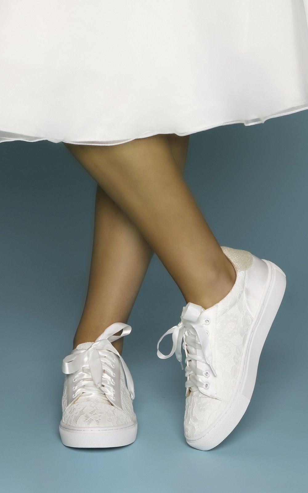 Perfect Bridal Pia Ivory Lace Wedding