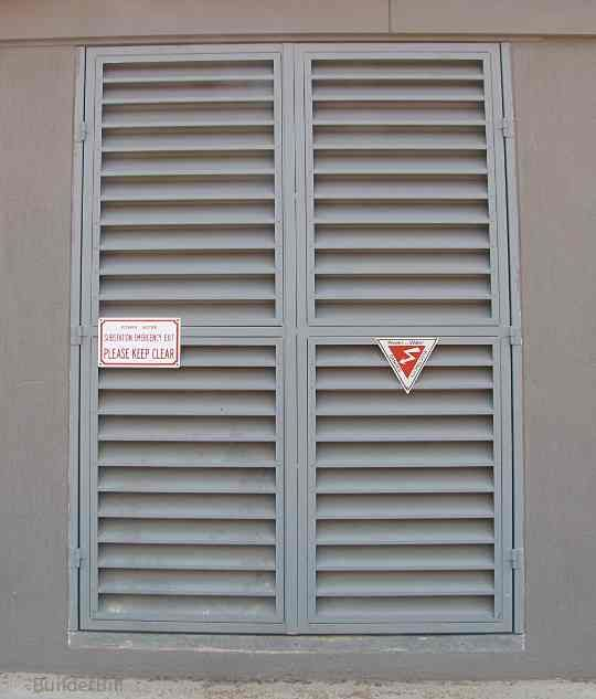 Matty   Commercial Steel Louvered Doors. Could Be A Cost Effective  U0027shutteru0027 Solution That Is Strong, Cheap, Maintenance Free. For Entrance  Door Or Over The ...