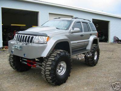 Jeep Grand Cherokee Wj Wg 44 Pneu 36 Palc Lift Jeep Grand