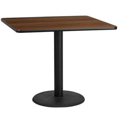 Flash Furniture 42 Inch Square Laminate Table Top With 24 Inch