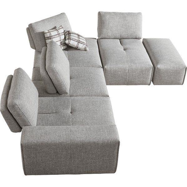 Plymouth Modular Sectional With Ottoman Modular Sectional Sofa Modular Sectional Sectional