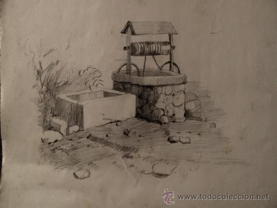 Dibujos de paisajes rurales a lapiz  Imagui  Dibujo  Pinterest
