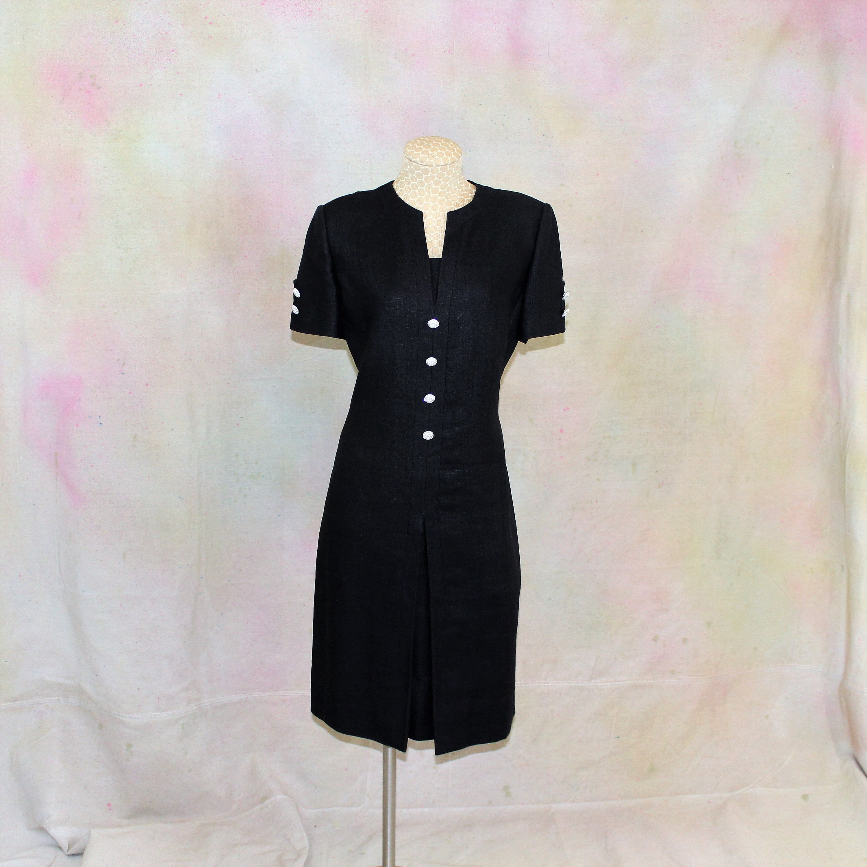 William Pearson Linen Long Dress