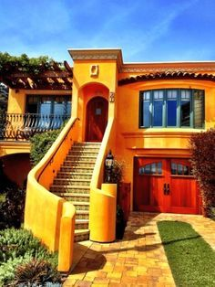 Small Spanish Style House