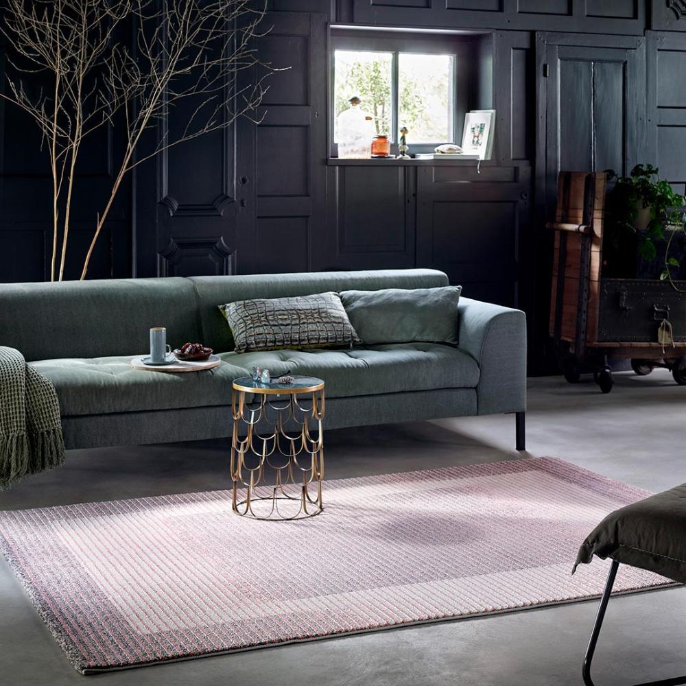 tapis de salon contemporain velvet flow