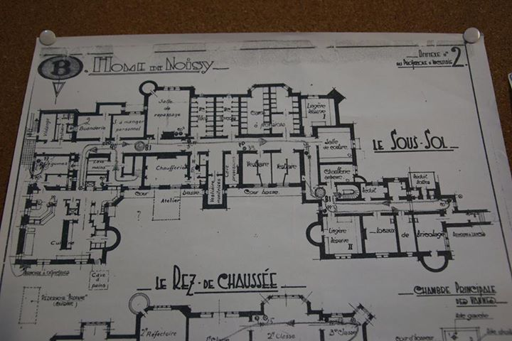 Chateau De Noisy Floor Plan Castle Floor Plan How To Plan Castle Tower