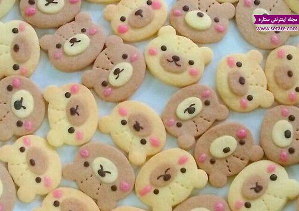 طرز تهیه دسر بیسکوییت کره ای به شکل خرس Teddy Bear Cookies Bear Cookies Teddy Bear Cakes