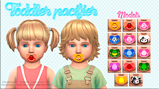 Sims 4 Cc S The Best Toddler Pacifier Acc By