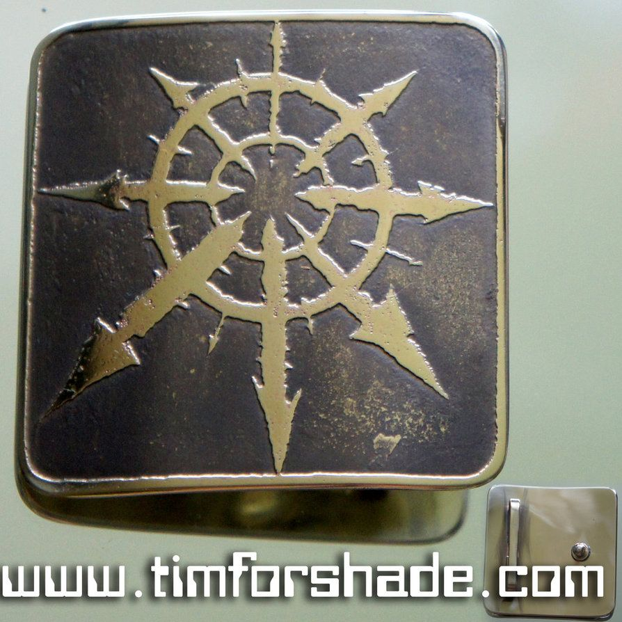 Symbol of Chaos Belt Buckle