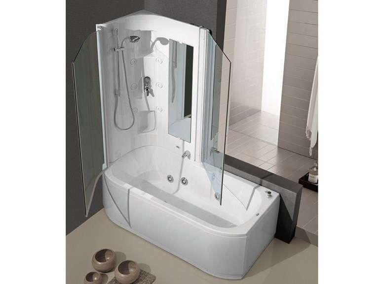 Box doccia Claudia Gruppo Treesse idromassaggio rettangolare ...