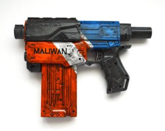 Hyperion Borderlands Inspired Nerf gun by KatofWonders on Etsy