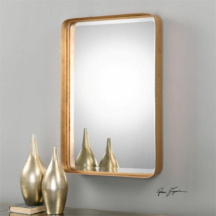 38d2528cb0e Uttermost Crofton Antique Gold Mirror. Contemporary MirrorsModern ...