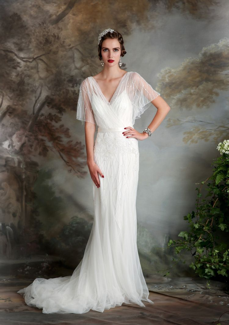 7f8d1ca2ffaa4 Eliza Jane Howell - Elegant Art Deco Inspired Wedding Dresses ...