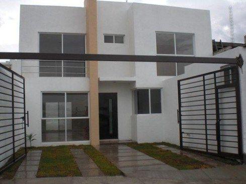 Rejas modernas y minimalistas barandas pinterest - Materiales fachadas modernas ...