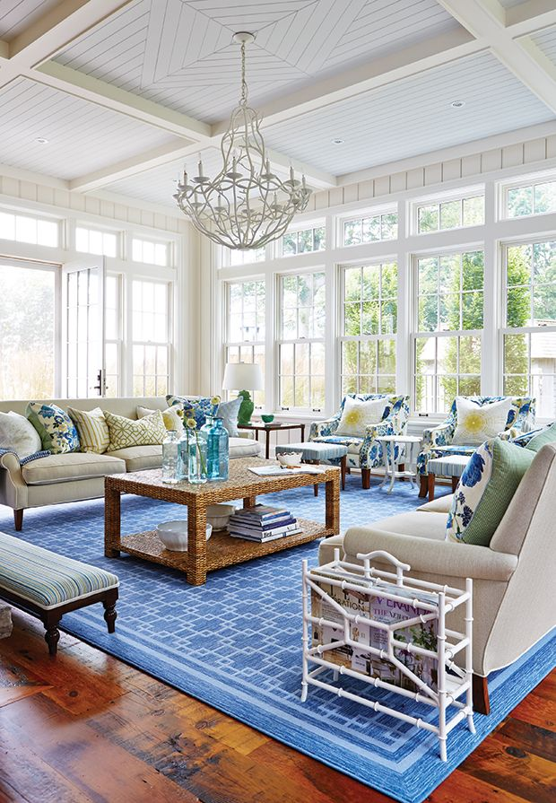 See Stunning Spaces By Sarah Richardson Design Coastal Living Rooms Beach House Decor Beach House Interior