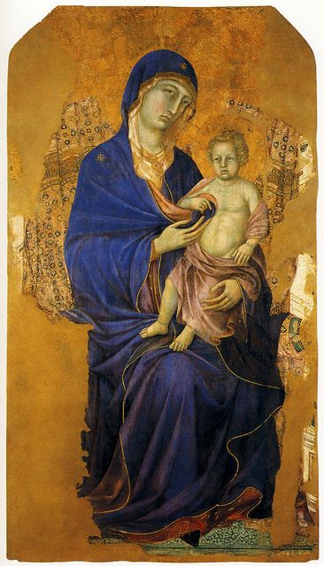 Madonna delle Grazie di Duccio da Buoninsegna - Massa Marittima Cathedral, c.1312-1316