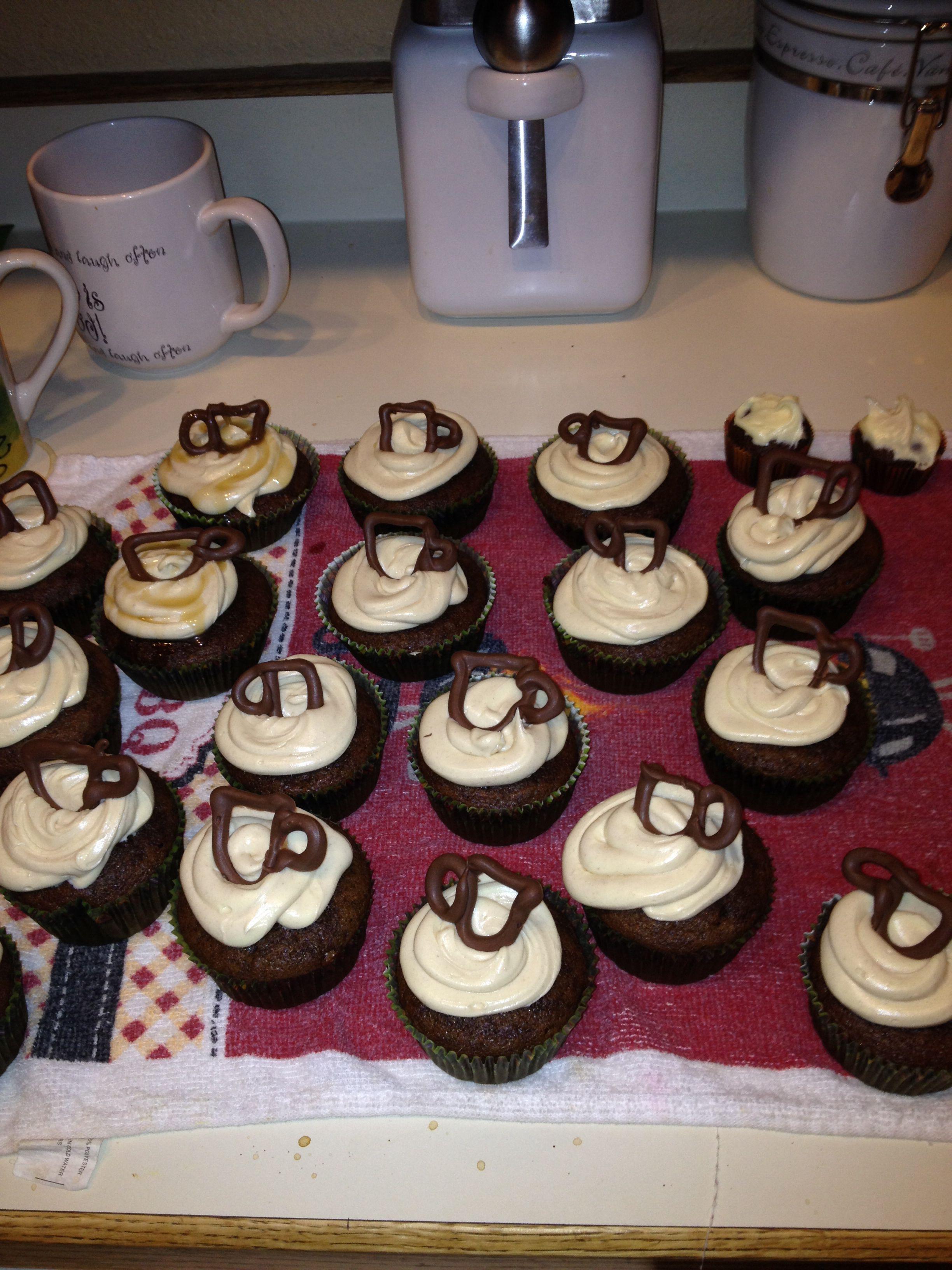 Pumpkin Spice Latte Cupcakes ! Mmmm