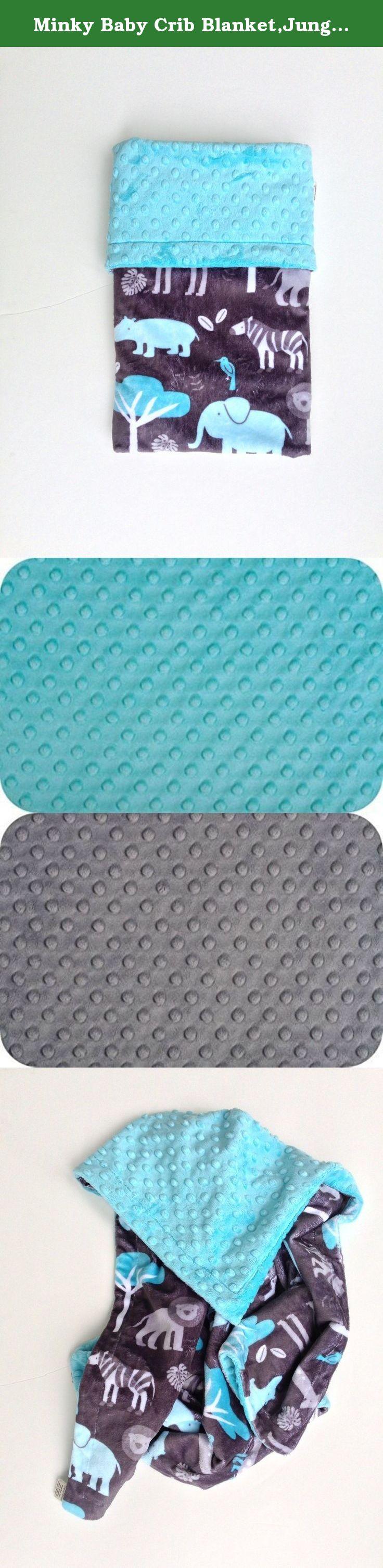 Baby crib zebra print bedding - Minky Baby Crib Blanket Jungle Or Zoo Theme Animal Print Bedding Crib Size 36 X