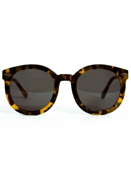 dffe674a87 Karen Walker Eyewear Super Duper Strength- Crazy Tortoise ...