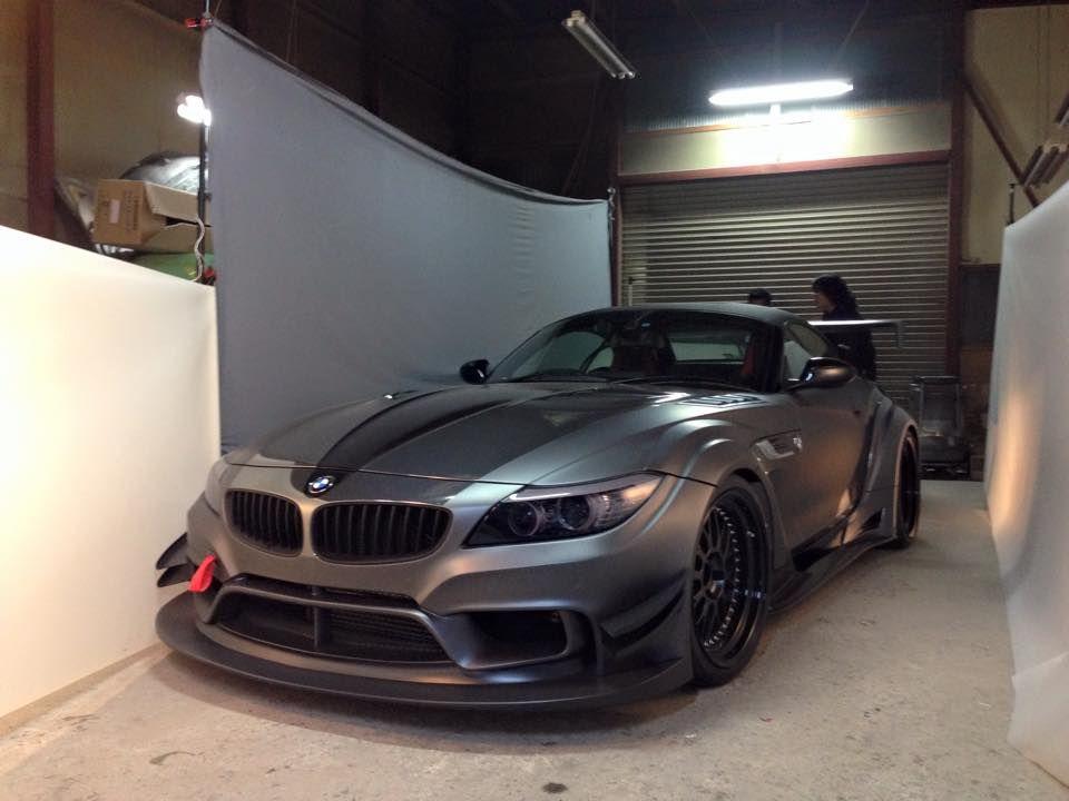 Varis Bmw Z4 Widebody 5 With Images Bmw Z4 Bmw Cars