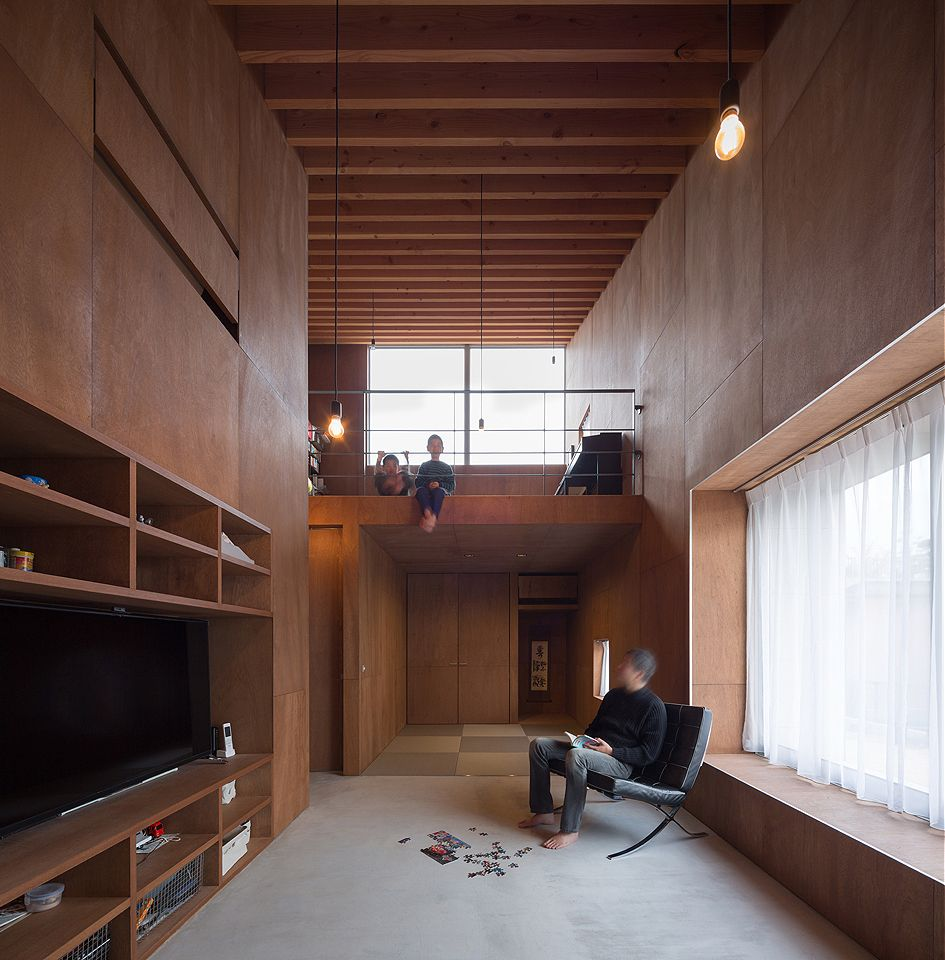 In room dwelling architects room and japan design