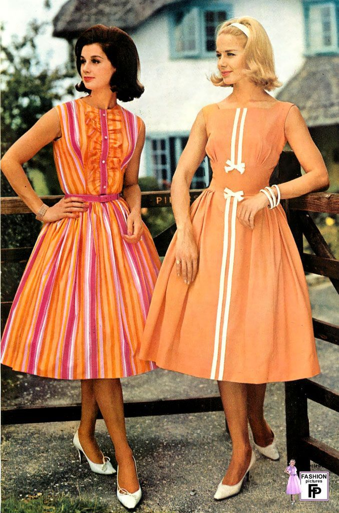 1960 style dresses for women