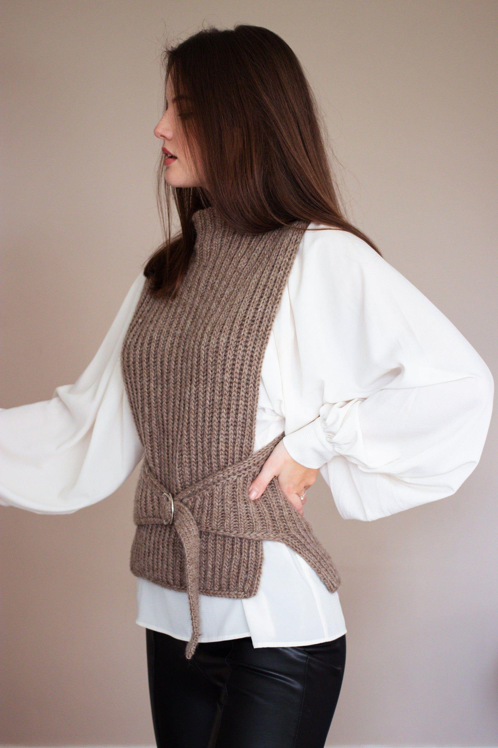 Livingstone Vest knitting pattern