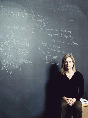 The Formula for Success   Politico   Lisa randall, Great women