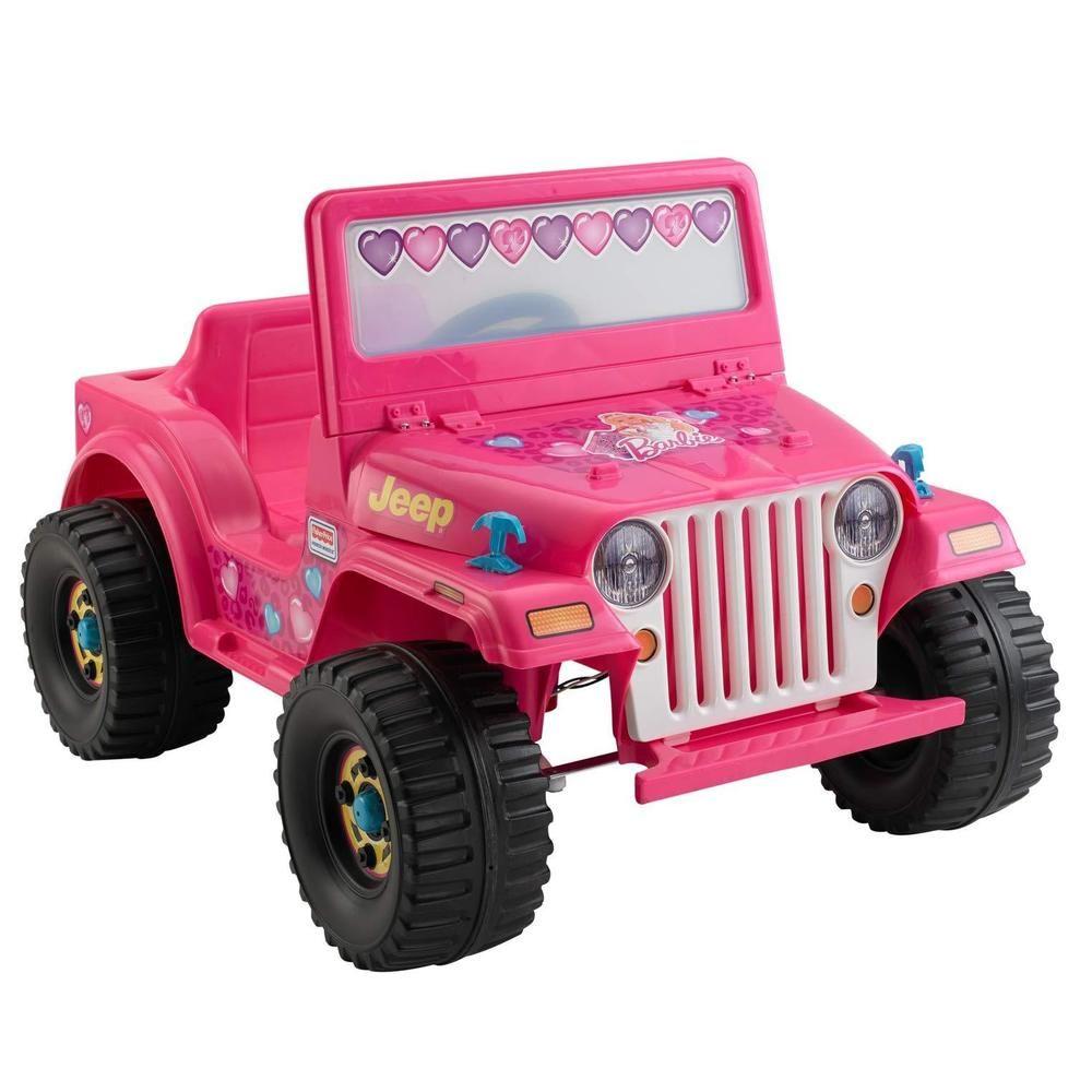 Power Wheels Barbie Jeep Wrangler Amazon Exclusive Ebay