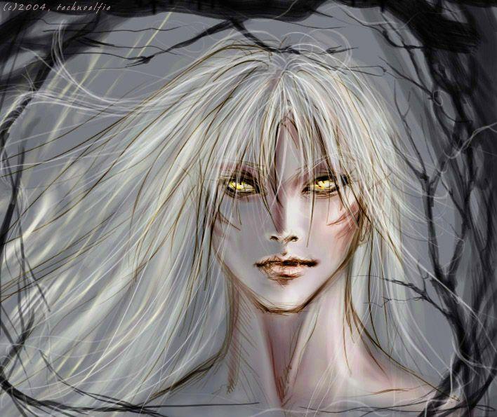 Sesshoumaru - Like my fangs? by Technoelfie on DeviantArt