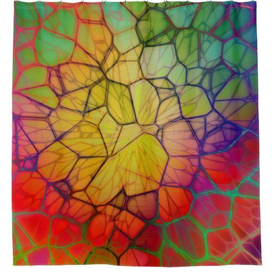 Mosaic Shower Curtain | Zazzle.com