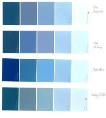 peinture nuancier bleu recherche google