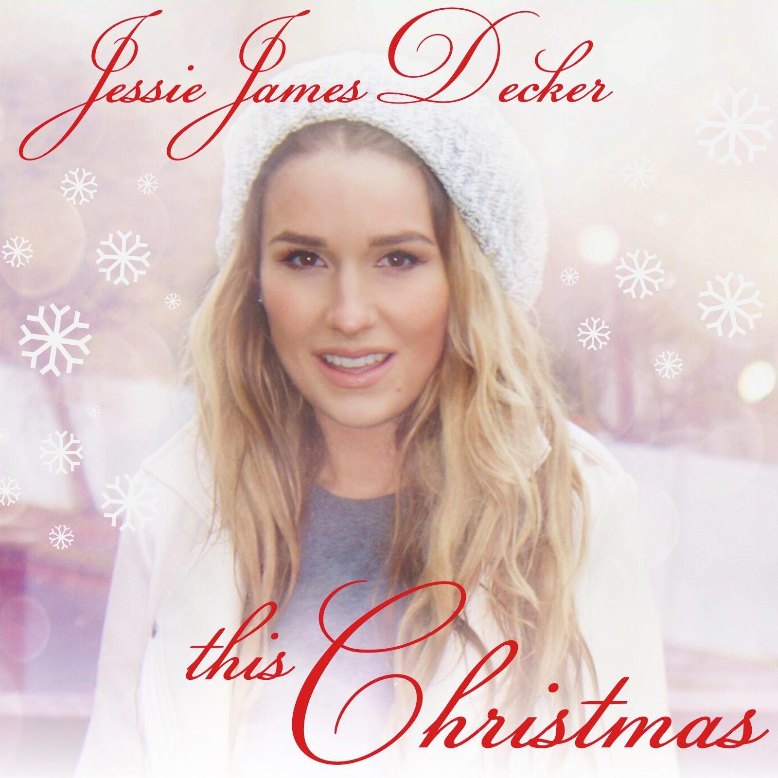 Jessie James Decker This Christmas Album Cover