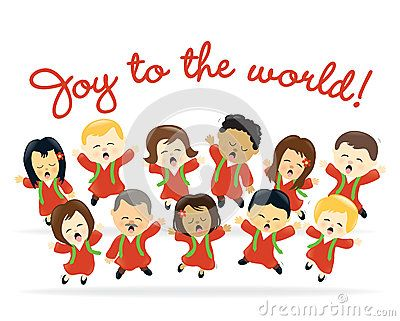 Christmas choir by Wetnose1, via Dreamstime | Choir, Clip ...