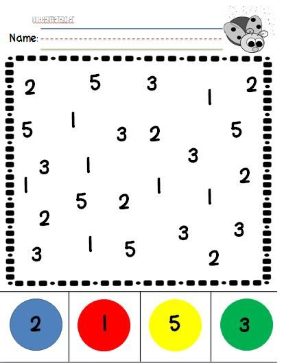 Number Recognition practice