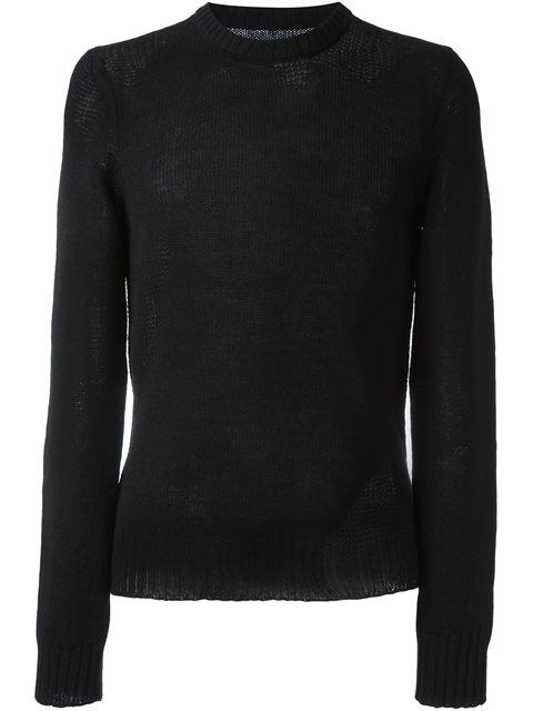 MAISON MARGIELA Distressed Knit Sweater. #maisonmargiela #cloth #sweater