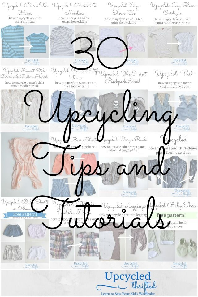 Photo of How To Upcycle Clothing For Kids • Heather Handmade