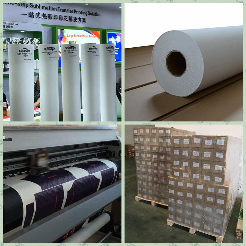 Sticky Sublimation Paper 100gsm for Sportswear Printing
