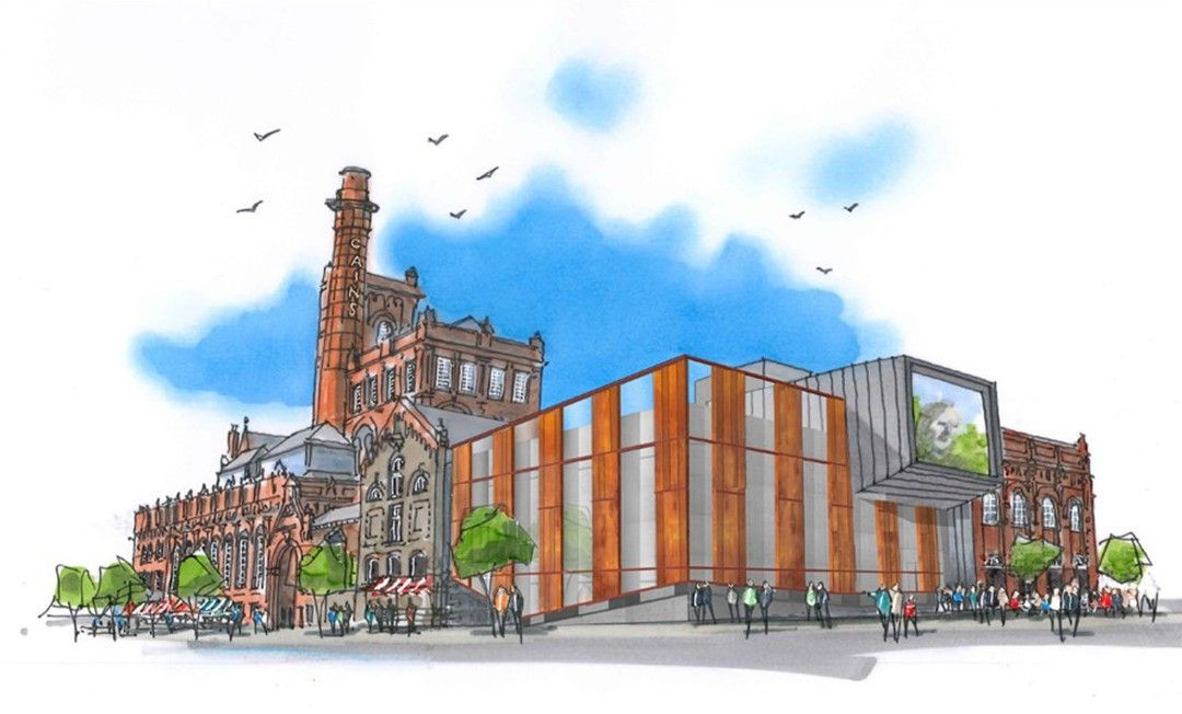 #Colliers International Destination Consulting Vision for £150m Cains #Brewery Village