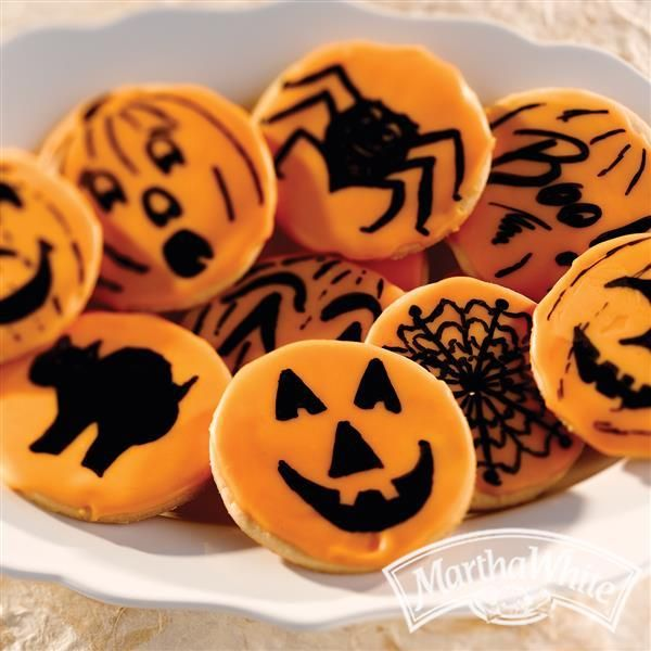 Need an idea for your Halloween party? Make these Halloween Cookies from Martha White®!