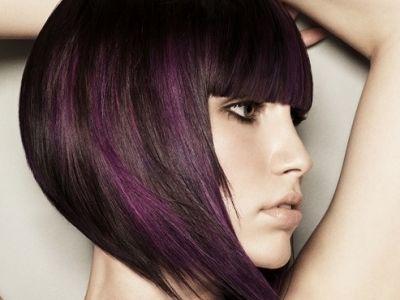 Love the pop of purple!