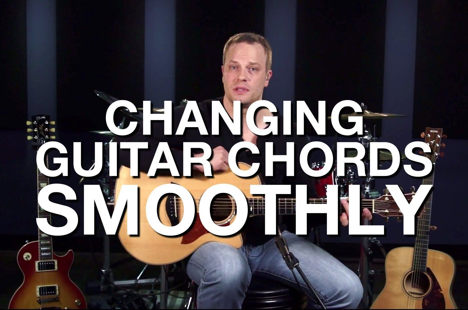 Changing Guitar Chords Smoothly Beginner Guitar Lesson Youtube