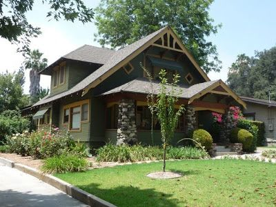 Bungalow Heaven Pasadena Two Storey California