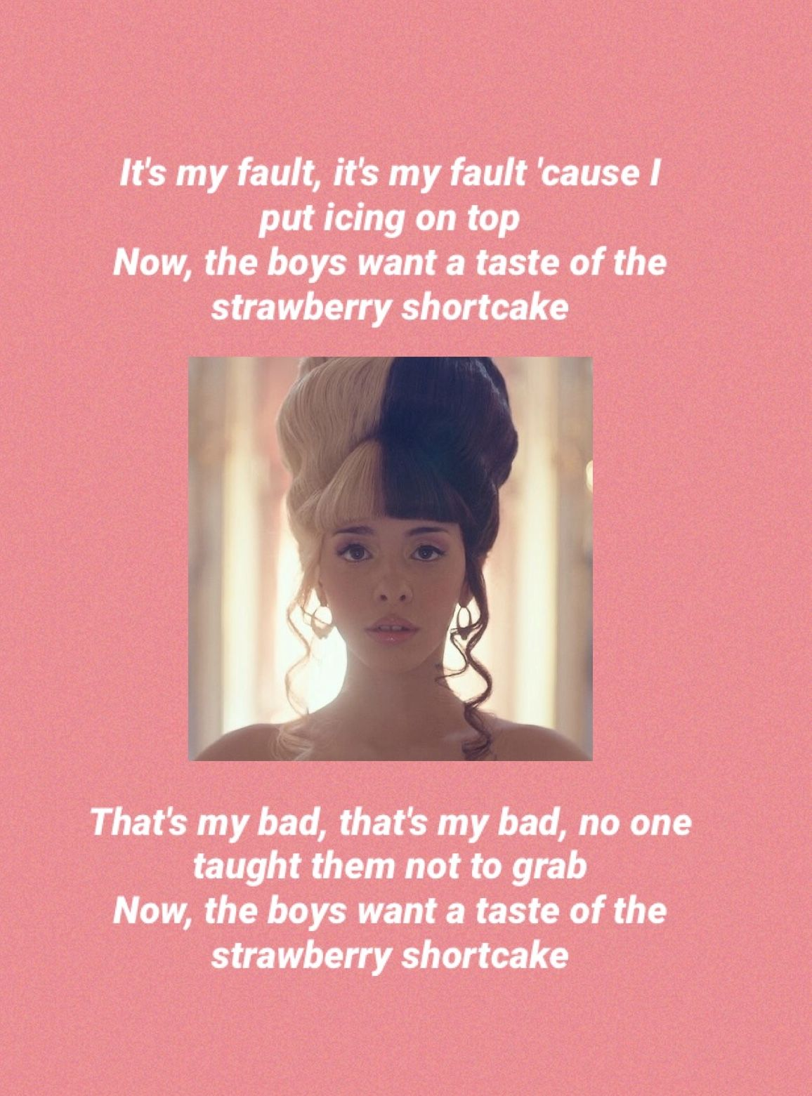 Strawberry Shortcake Melanie Martinez Lyrics Melanie Martinez Songs Melanie Martinez Lyrics Melanie Martinez