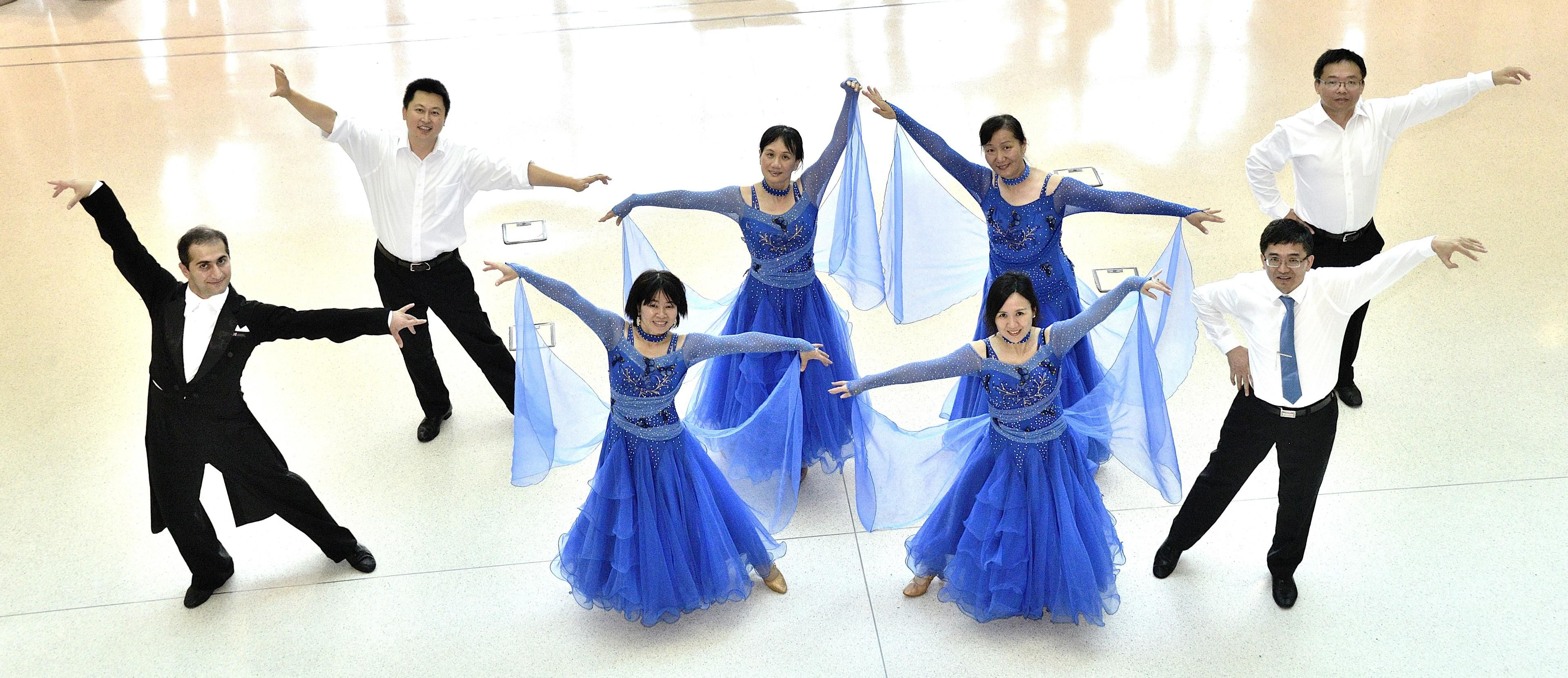 Showdance formation