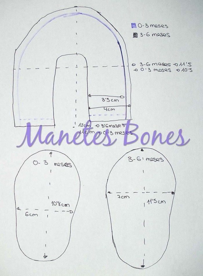 Zapatitos para bebé con patrón | bb | Pinterest | Baby Shoes, Baby ...