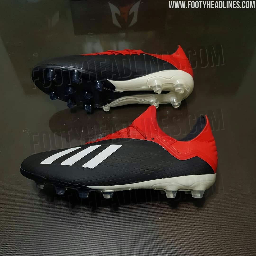 First real picture  black   red adidas x 18.1 2018-2019 leaked ... 0a4a194478223