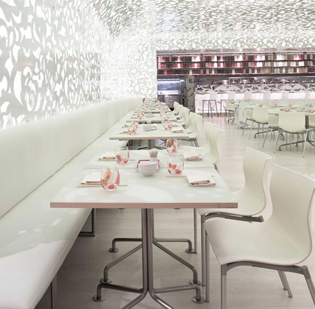 Modern cafe chairs and tables - Caesar S Palace Chinese Restaurant Beijing Noodle No Design Spirits Created A Magical Modern Space For This Yummy Restaurant With A Beautiful Goal In