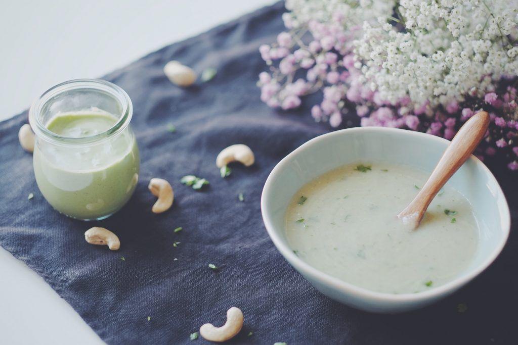 Spargelsuppe mit Kokosmilch