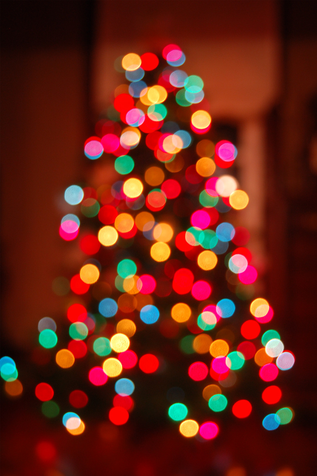 Vintage Christmas Tree Galaxy Wallpaper androidwallpaper